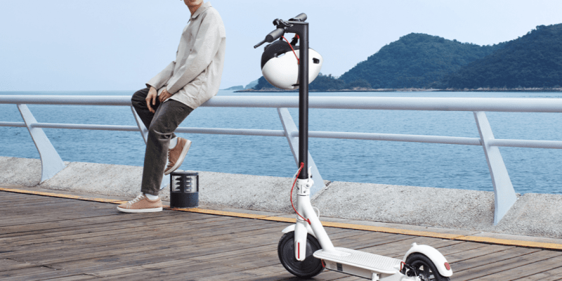 Xiaomi выпускает электросамокат Mijia Scooter 1S за 282 доллара (gnqmrroguxby)