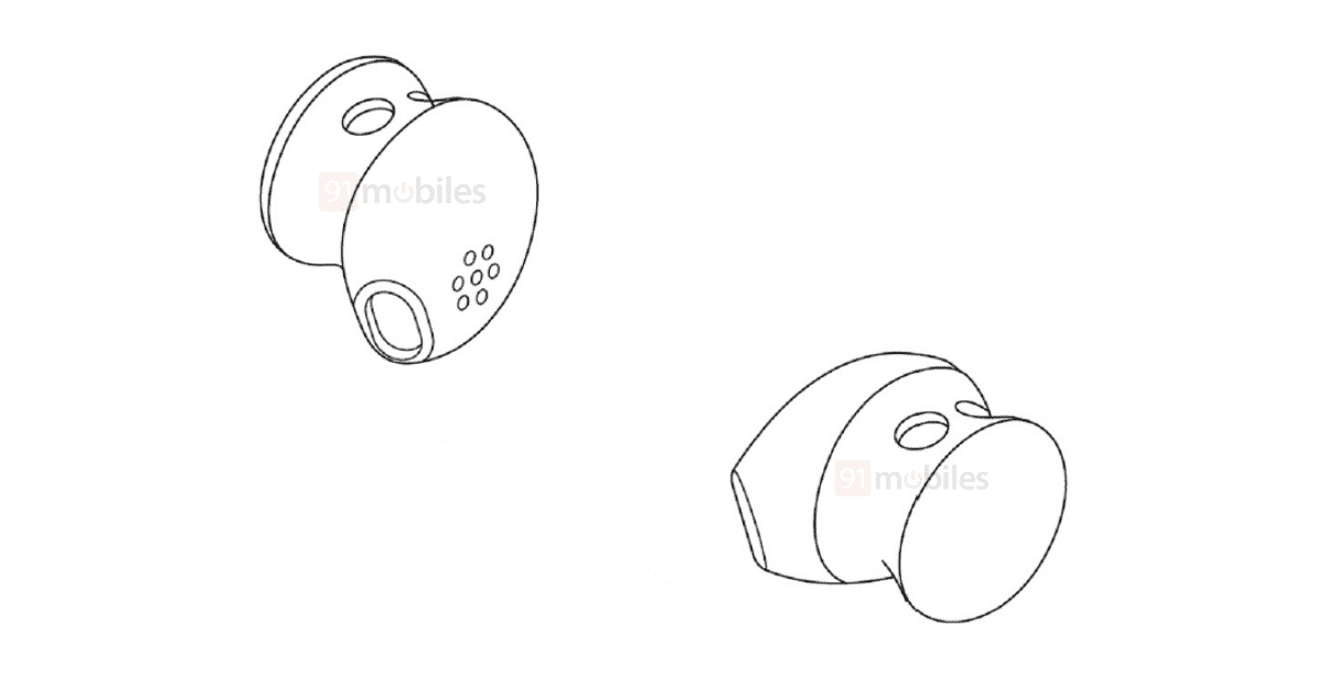 Google Pixel Buds 3 появился в списке патентов (google pixel buds 3 design cnipa watermarked)