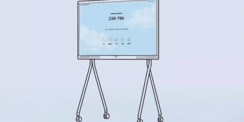 Smart Screen от компании Huawei получит корпоративную версию для предприятий (huawei to launch enterprise grade smart display on 24th february 1)