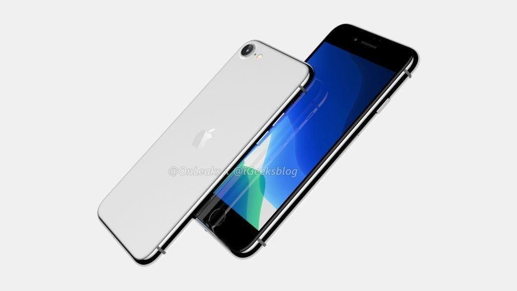 Релиз iPhone SE 2 может состояться уже сегодня (iphone 9 renders 4 1)