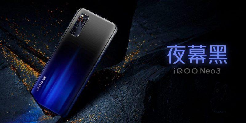 Компания iQOO официально представила смартфон iQOO Neo3 (iqoo neo 3 3)