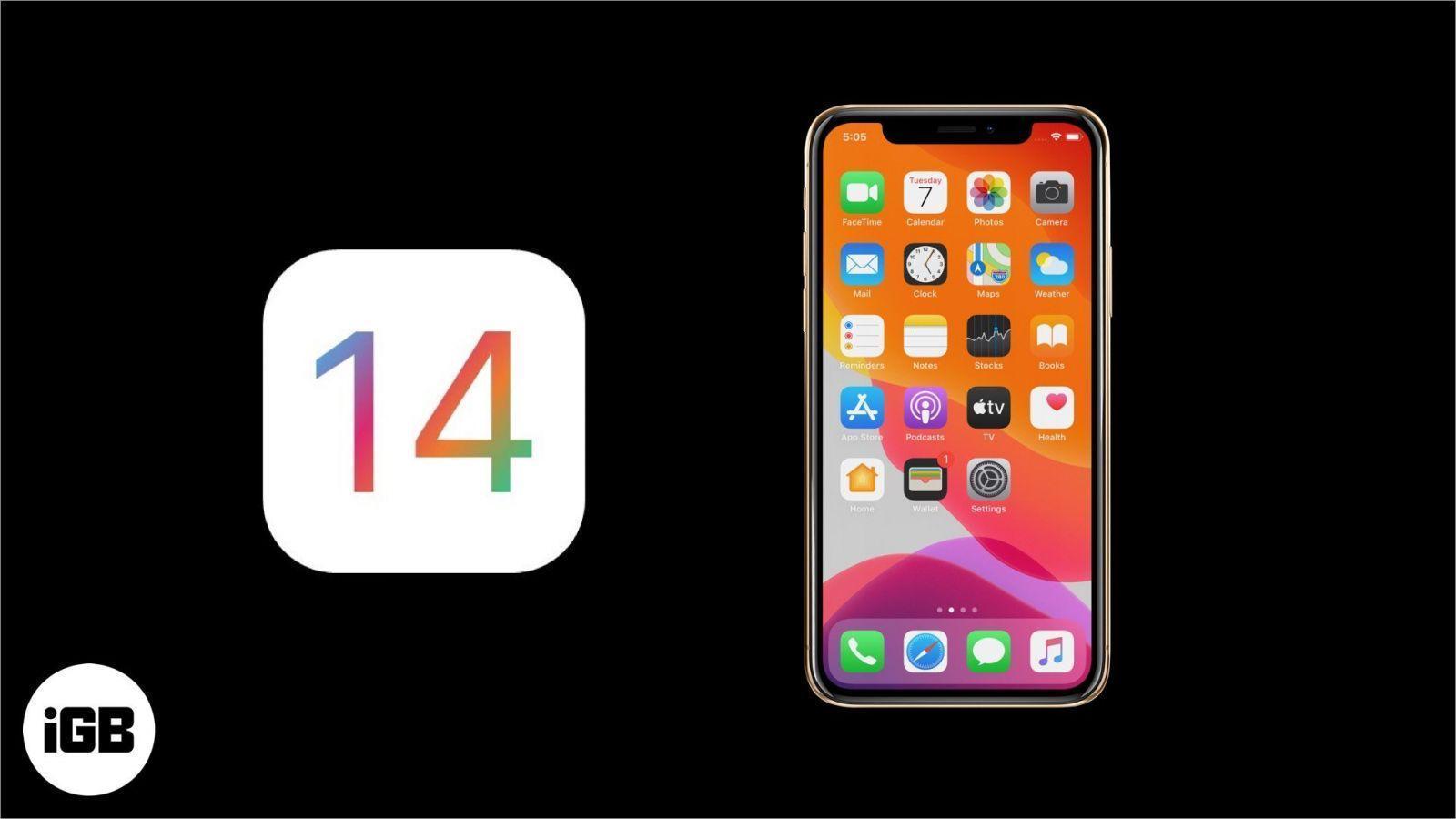 """В iOS 14 появится функция """"предпросмотра"""" приложений (list of ios 14 supported devices)"""