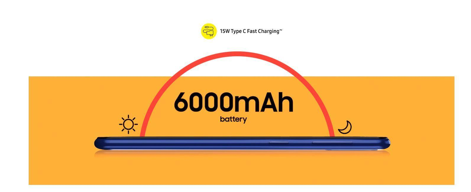 Samsung выпустил недорогие Galaxy M21 и M11 (m11 m21 battery)