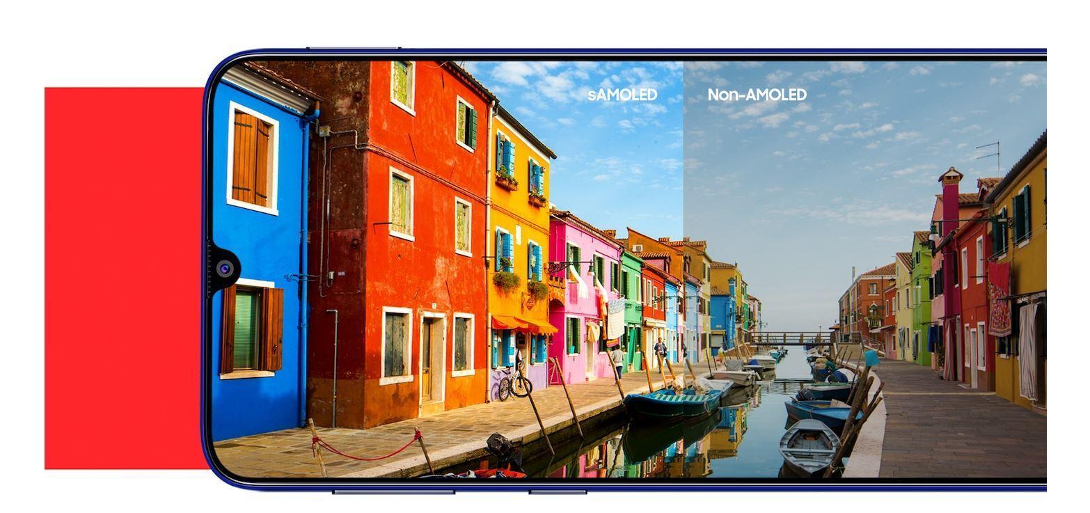 Samsung выпустил недорогие Galaxy M21 и M11 (m21 screen)