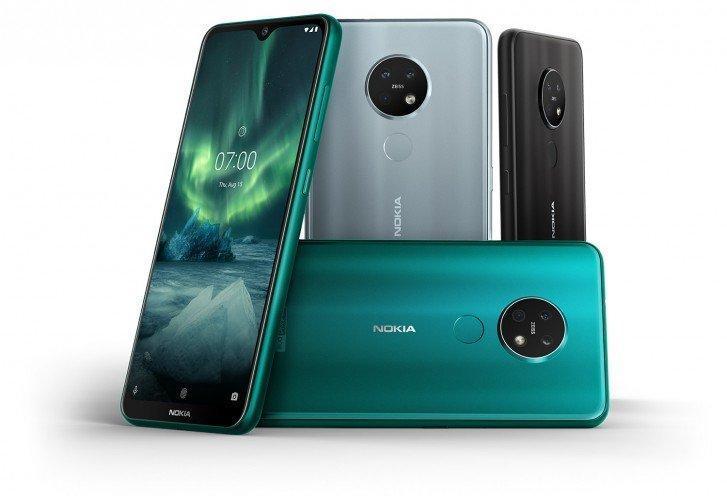 Nokia 9.3 и Nokia 7.3 могут появиться в третьем квартале 2020 года (nokia 7.2 color options)
