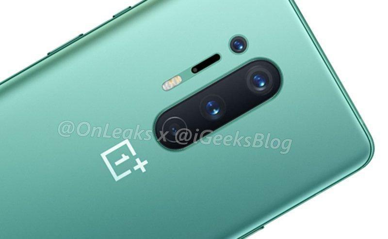 OnePlus 8 Pro зеленый