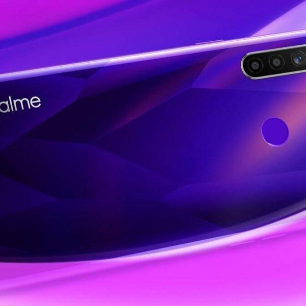 В сети появилось изображение нового смартфона Realme (realme 5 5 pro 5)