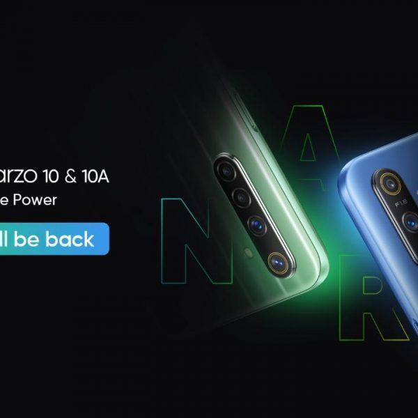 Презентация смартфонов Realme Narzo 10 и Narzo 10A состоится 21 апреля (realme narzo 10 launch suspend)