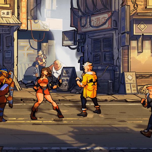 Nintendo раскрыли дату выхода игры Streets of Rage 4 (streetsofrage4 screen3)