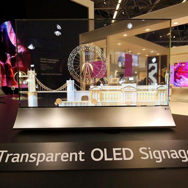LG Display выпустит прозрачный OLED-экран (transparent oled lg)
