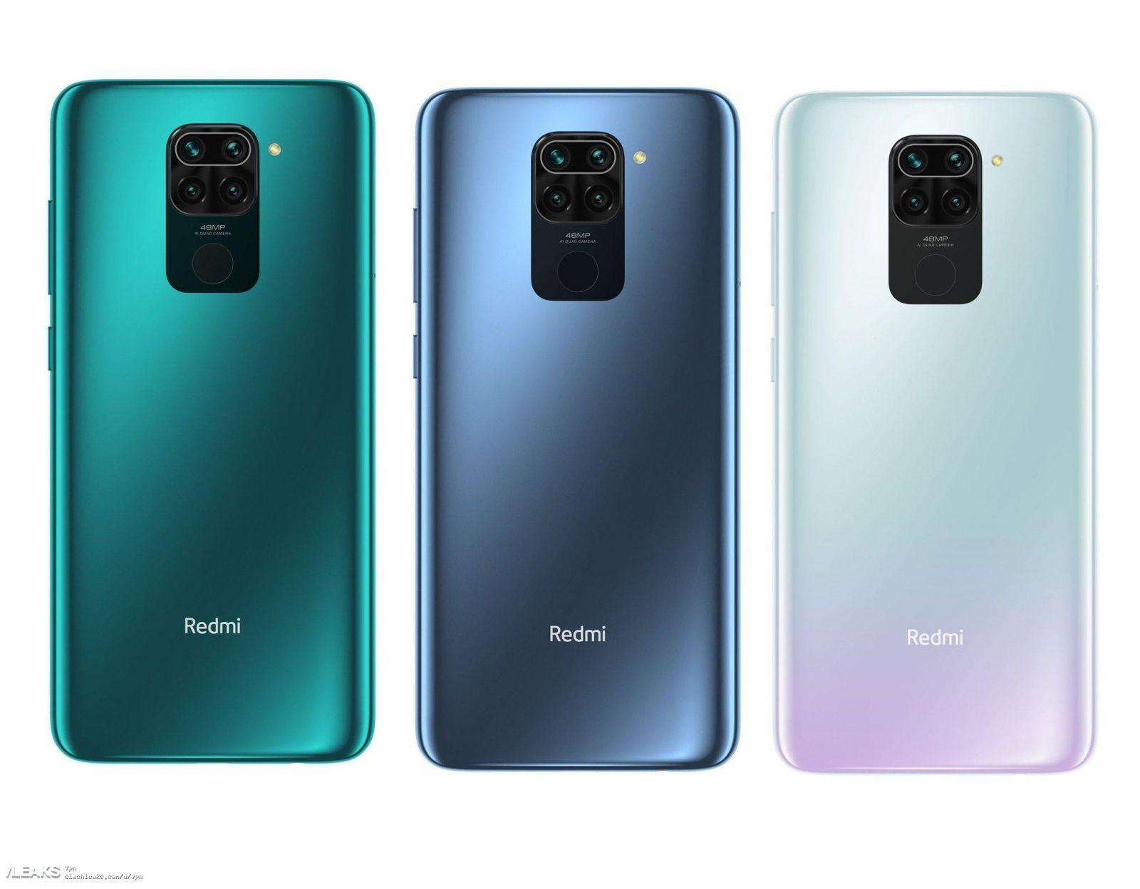 Xiaomi представила смартфон Redmi Note 9 (unwatermarked redmi note 9 render 272 large)