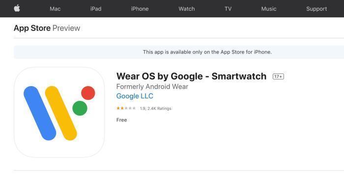 Wear OS получила приставку Google SmartWatch к названию (wear os google smartwatch apple)