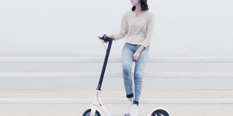 Lenovo анонсировала свой первый электросамокат (xiaomi smart electric motor scooter 3 10001)
