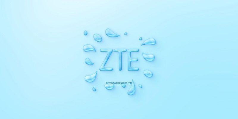 В ближайшее время ZTE представит бюджетный смартфон ZTE Blade 10 Smart (zte logo water logo emblem blue background zte logo made of water scaled 1)