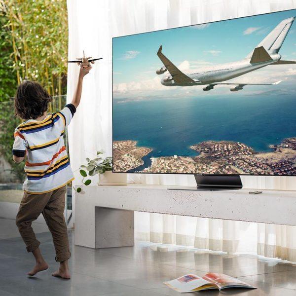 В России любят смотреть ТВ «за компанию» (2020 qled tv f00 sound kv pc)