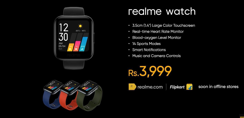 Realme наконец представила новые смарт-часы Realme Watch (2323323 large)