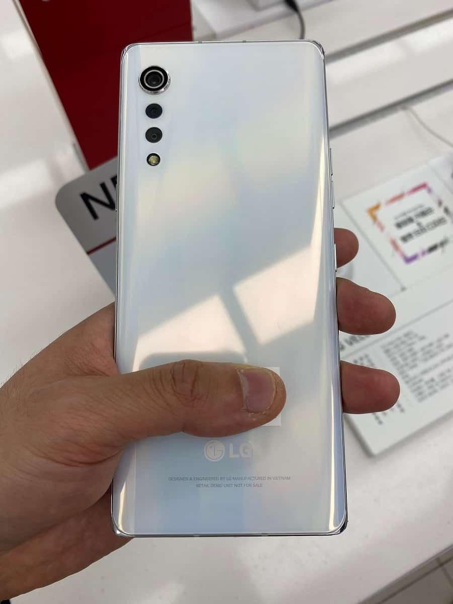 Новые фотографии LG Velvet выявили ранее неизвестные функции (LG Velvet 444)