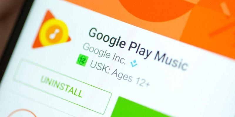 Google закрывает сервис Play Music (androidpit google play music playstore)