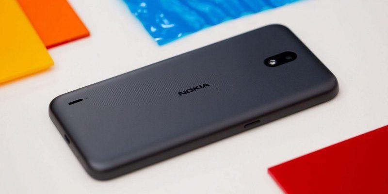 Смартфон Nokia 1.3 начал продаваться в России (androidpit nokia 1 3 back logo scaled 1)