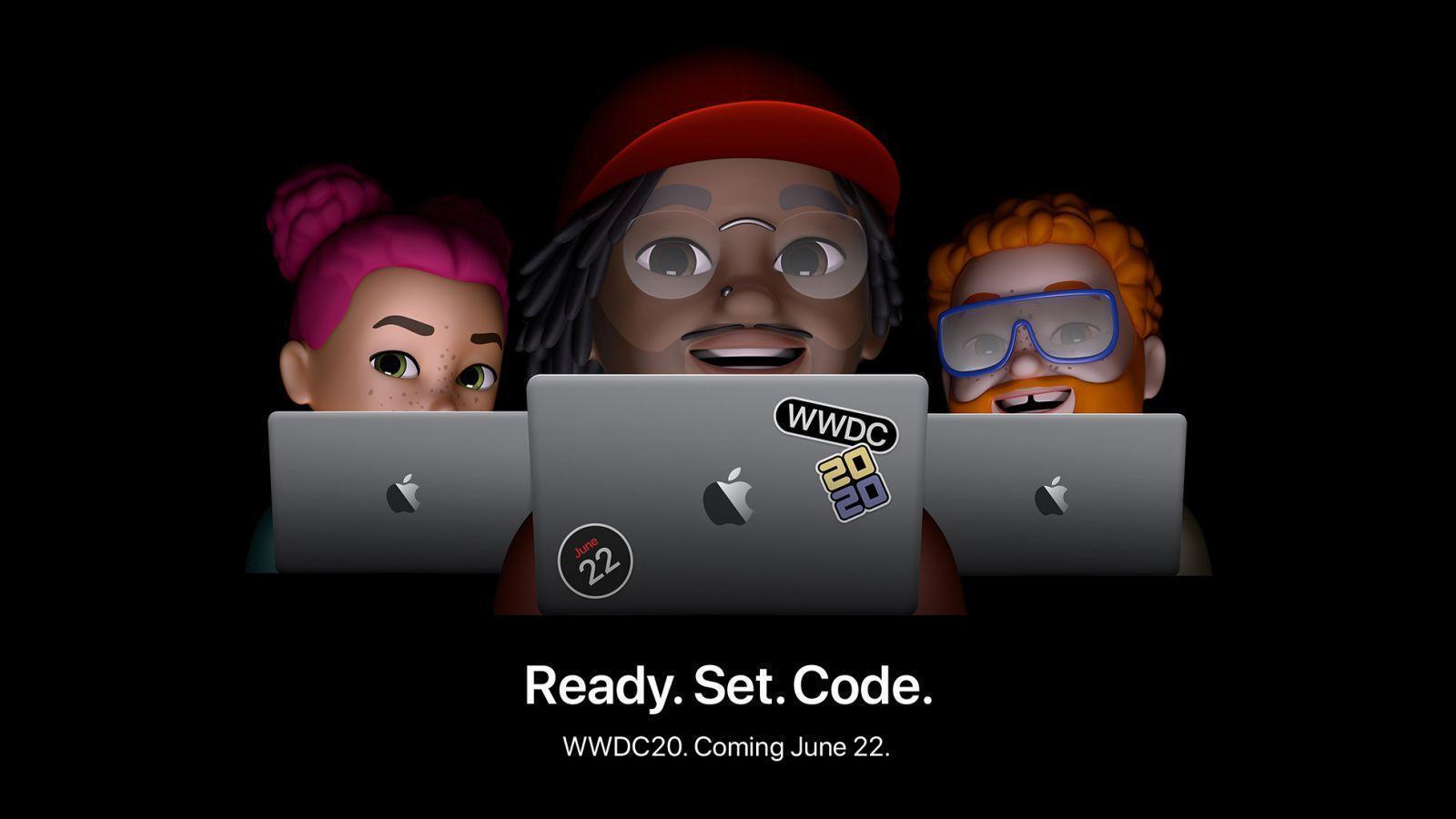 Конференция разработчиков Apple WWDC 2020 начнётся 22 июня (apple wwdc announcement ready set code 05052020.0)