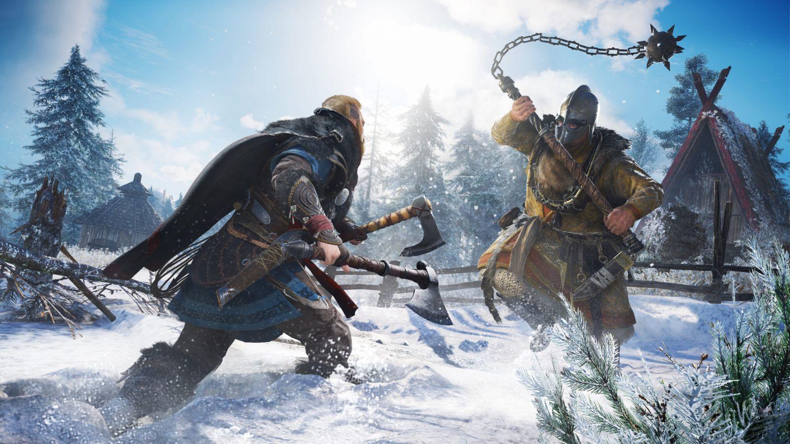 Sony может провести презентацию игр для PS5 уже 3 июня (assassins creed valhalla screen 3 scaled 1)