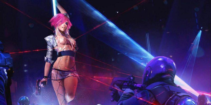 В CyberPunk 2077 будет секс от первого лица. 18+ (cyberpunk 2077)