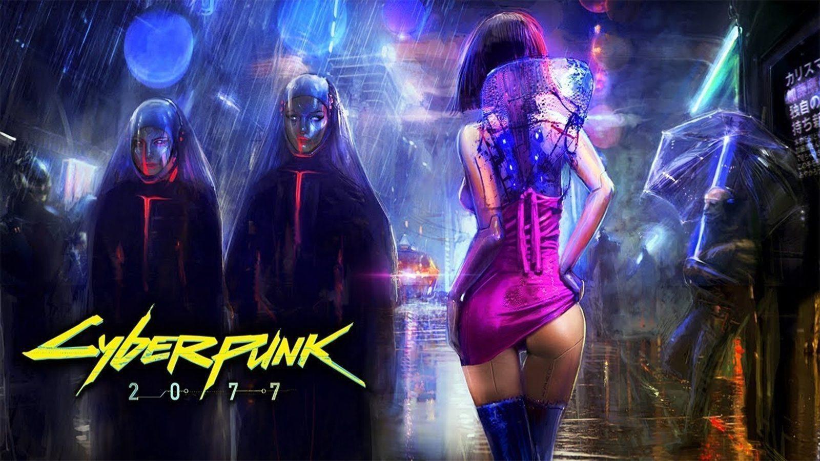 В CyberPunk 2077 будет секс от первого лица. 18+ (cyberpunk2077 gameplay released)