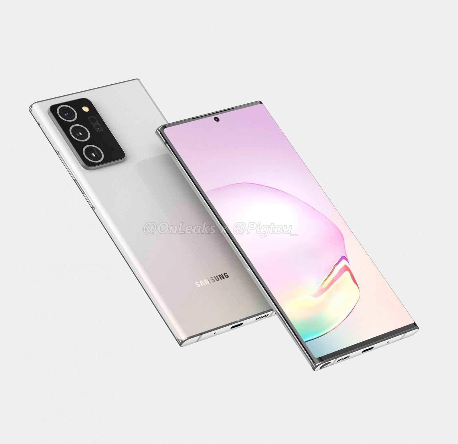 В сети появились рендеры смартфона Samsung Galaxy Note 20+ (e3370f4b0675f8cac4d6fc8c70515384)