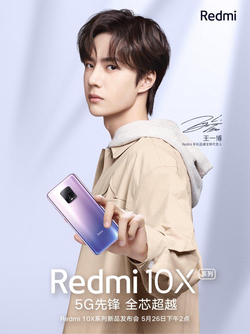 Xiaomi опубликовала плакат смартфона Redmi 10X (eybjwluwsamessq)