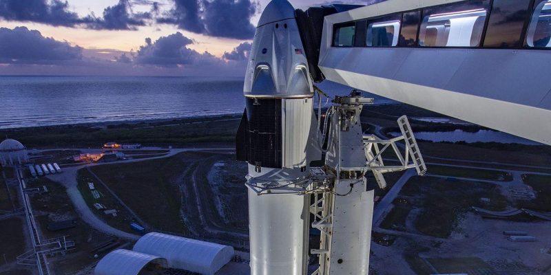 Как и где смотреть трансляцию запуска людей в космос SpaceX и NASA (eyzhy0au8aajxra)