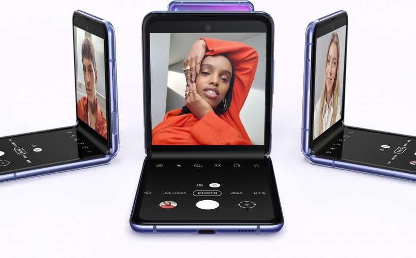 Samsung запатентовала три разных покрытия экрана (galaxy z flip future purple 0)