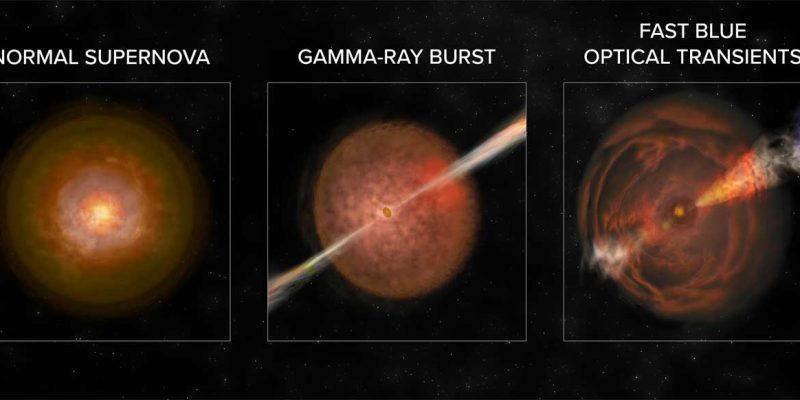Астрономы обнаружили новый взрыв в космосе (gamma ray burst)