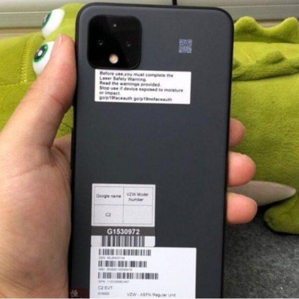 Прототип Google Pixel 4 XL получил новый неожиданный цвет (google pixel 4 xl prototype is wearing a color youve never seen on this phone)