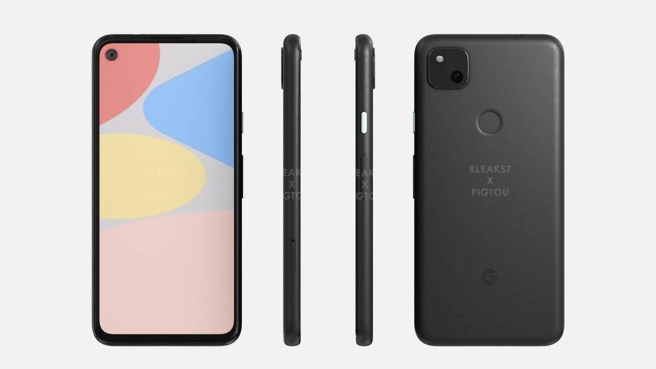 Google Pixel 4A Render