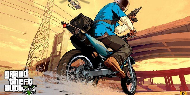 В Epic Games Store опять началась распродажа игр (grand theft auto v motorcycle 044359)