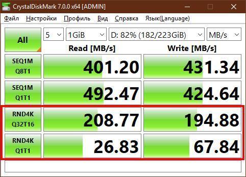 Как узнать скорость жёсткого диска или SSD-накопителя (hdd speed 2)