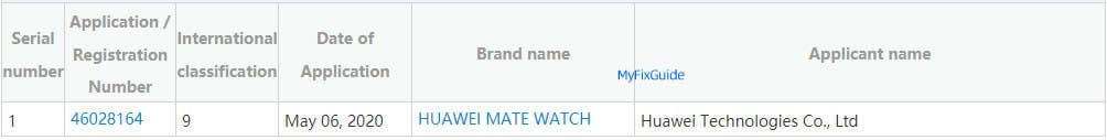 Huawei готовит новые смарт-часы Mate Watch (huawei mate watch 1)
