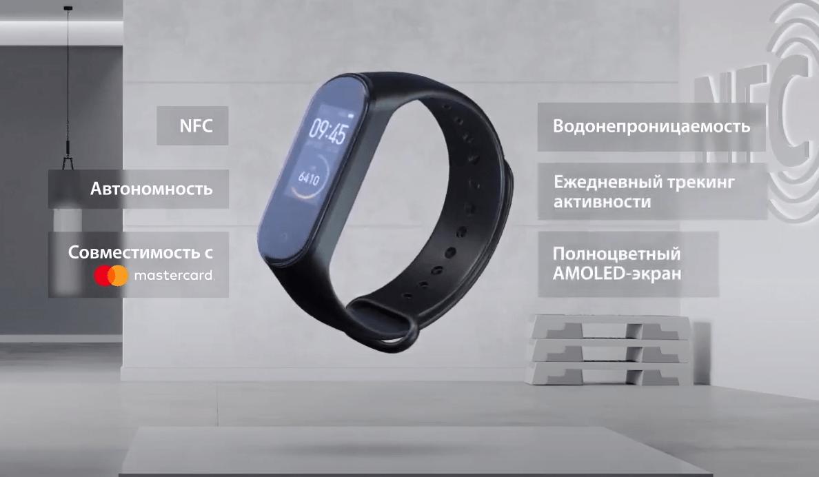 Xiaomi выпустила Mi Smart Band 4 с NFC (image 60)