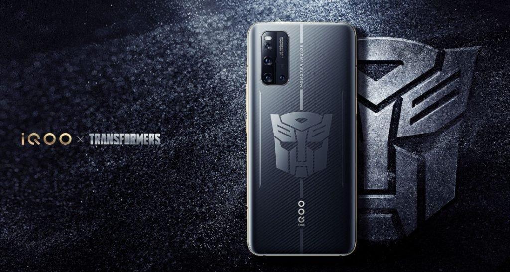 Компания iQOO готовится представить специальную версию смартфона iQOO 3 5G Transformers Edition (iqoo 3 5g transformers edition)