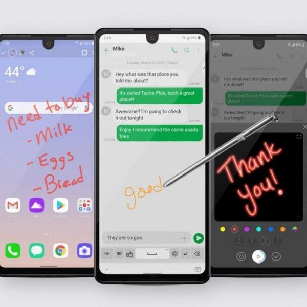 Компания LG представила смартфон LG Stylo 6 (kfcnexotfhsb)