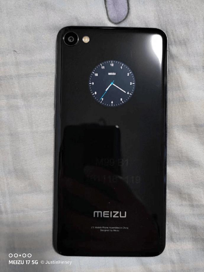 В сети появилось изображение двухэкранного смартфона Meizu (meizu dual display phone leak)