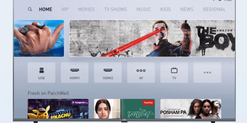 Для телевизора Mi TV 55 вышло большое обновление PatchWall 3.0 (mi tv patchwall 3.0 update final)