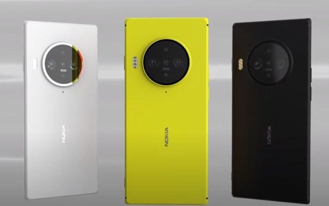 Nokia 9.3 заметили на YouTube (nokia 9.3 concept creator colors)