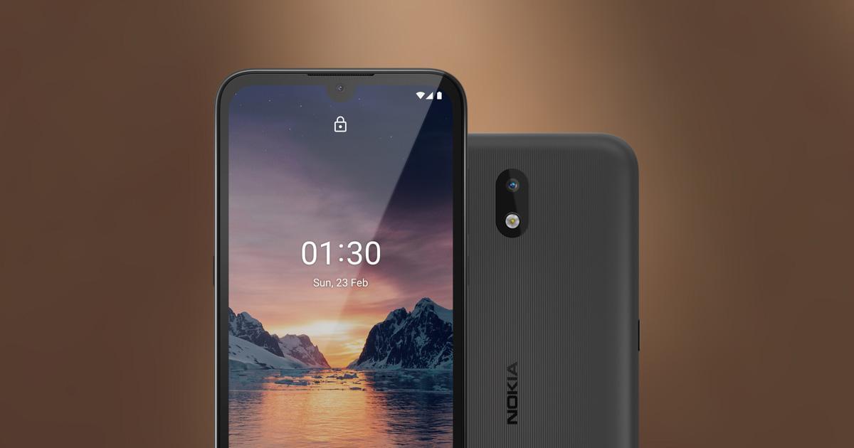 Смартфон Nokia 1.3 начал продаваться в России (nokia 1 3 og)