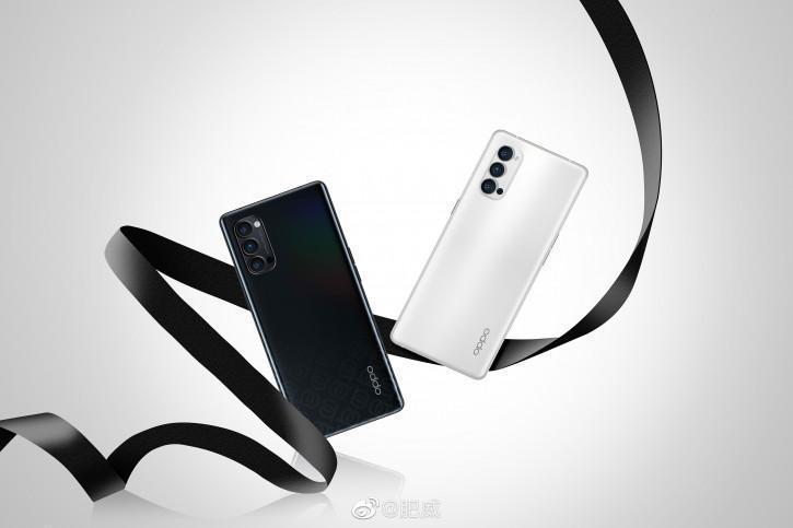 В сеть утекли фото смартфона Oppo Reno 4 Pro (oppo reno 4 pro v chernom i belom na izaschnoj podborke press foto picture2 0 resize)