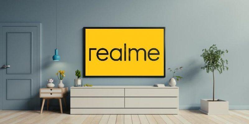 Realme представит свой первый умный телевизор 25 мая (realme tv)