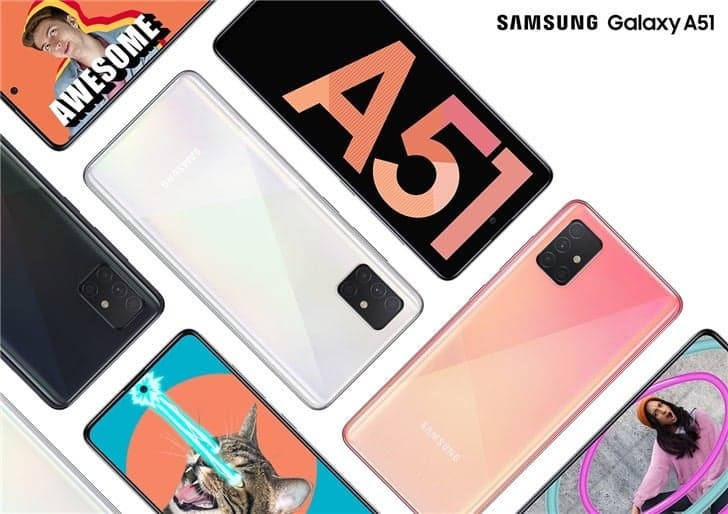 Смартфоны Samsung Galaxy A могут получить оптическую стабилизацию камеры (samsung galaxy a51)