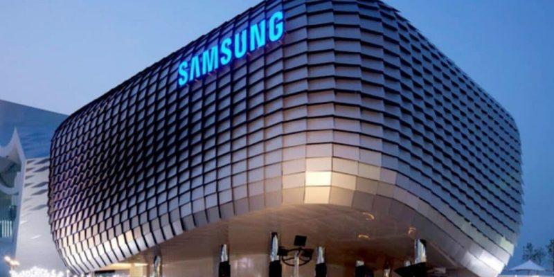 Samsung планирует разрабатывать электромобили совместно с Hyundai (samsung logo building 1024x640 1)