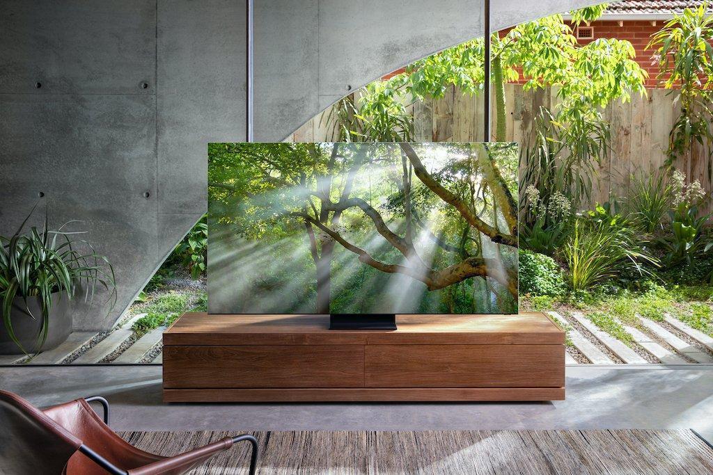 Samsung представила премиальный телевизор Samsung 8K QLED TV (samsung q950ts tv 1)