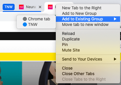 В Google Chrome появились групповые вкладки (screenshot 2020 05 20 at 10.07.46 am)